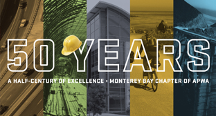 APWA Monterey Bay Chapter 50-year brochure
